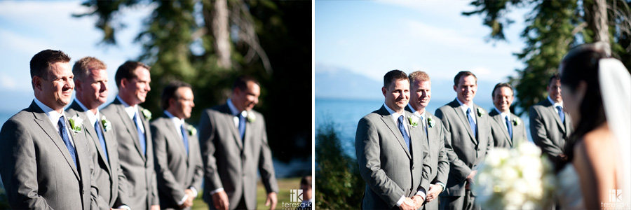 lakeshore wedding in north shore Tahoe