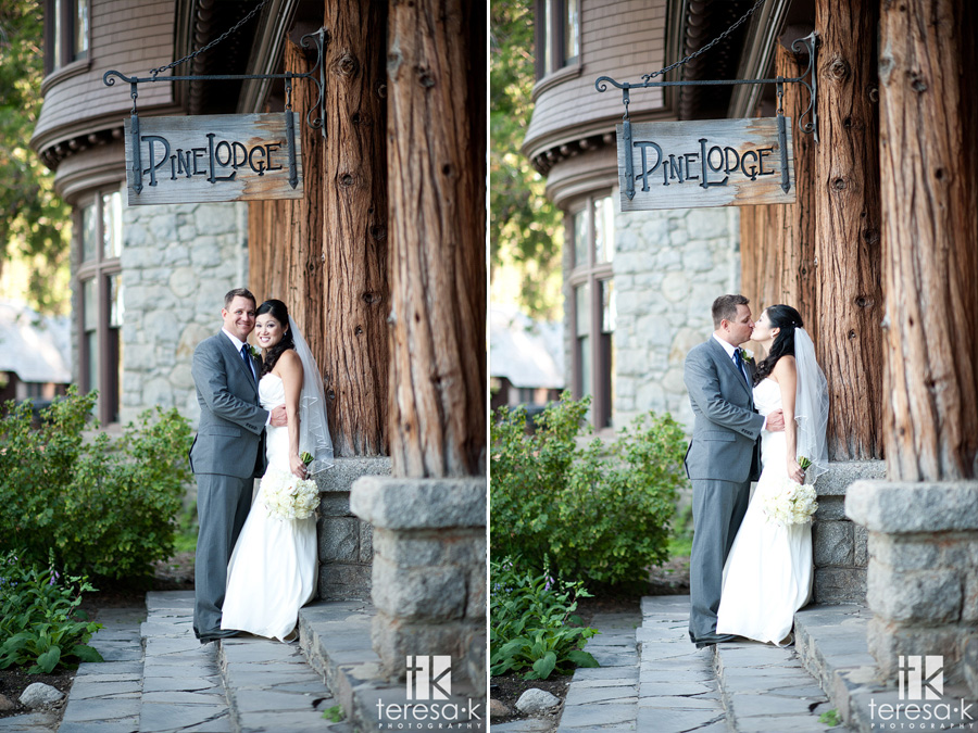 pine lodge weddings in Tahoe