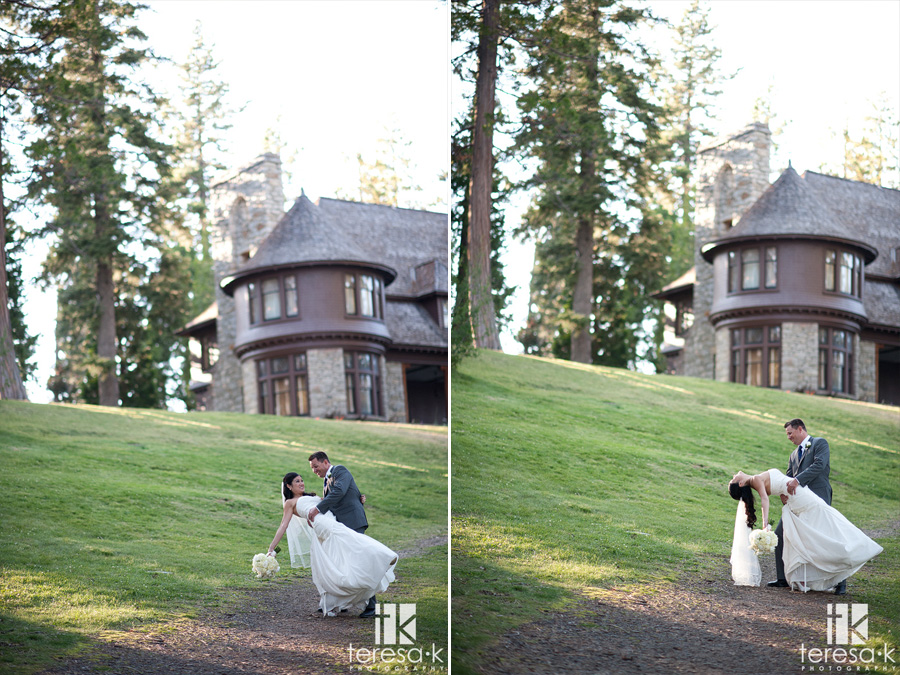 beautiful mansion weddings in lake Tahoe California