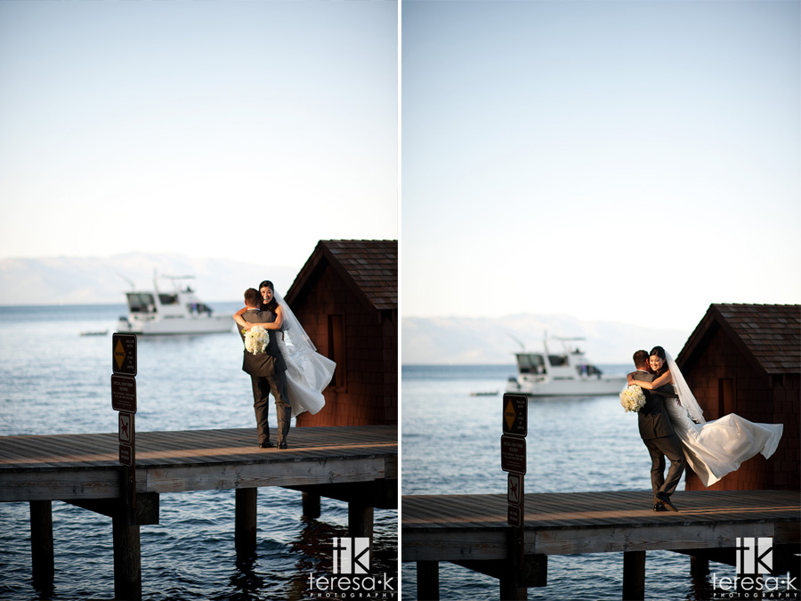 weddings on the water in lake Tahoe