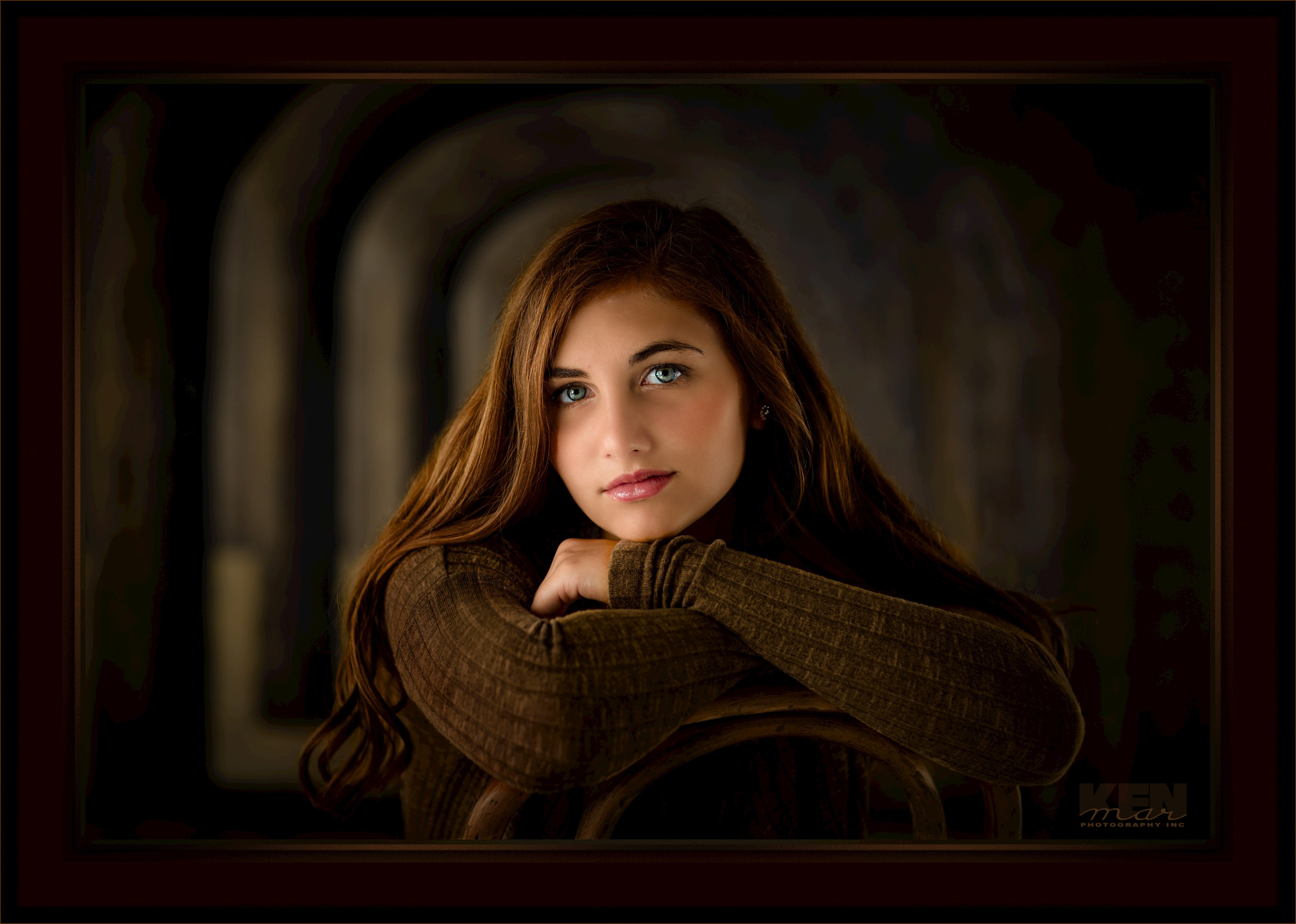 Part of a gallery of high school senior images by KenMar