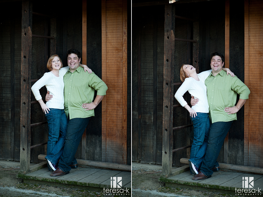 spring engagement session at the Folsom powerhouse by Folsom wedding photographer, Teresa K photography