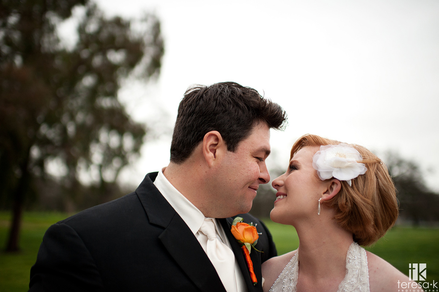 close up and emotional bride and groom portraits in Lincoln, ca