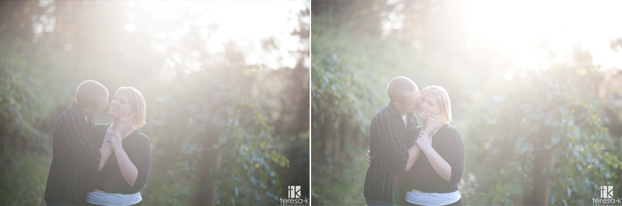 apple hill engagement session by Teresa K photography