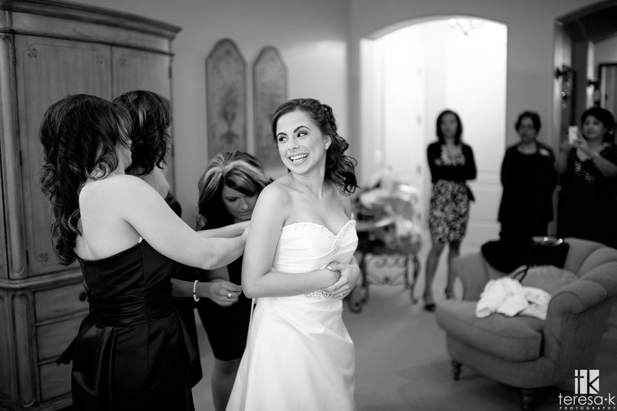 black and white images of bride
