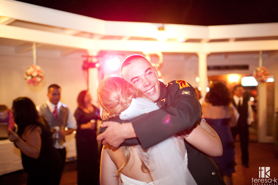 brother in the army comes home for wedding