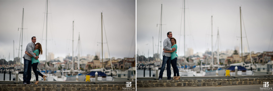 San Francisco Engagement session at the marina district 009