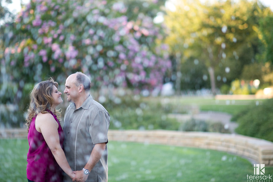 water image of couple in Davis
