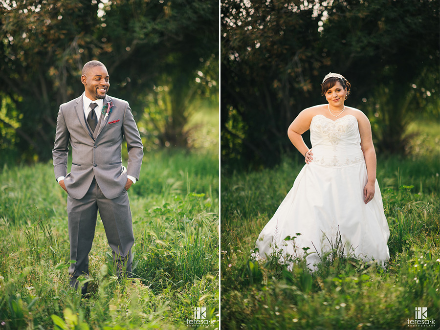bride and groom portraits at arden hills sacramento