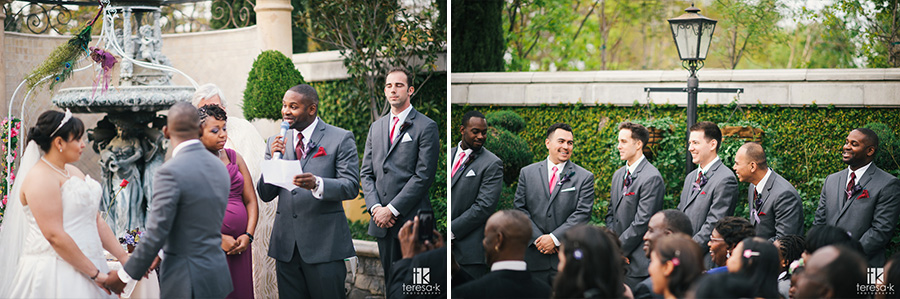 groomsmen and speeches at wedding