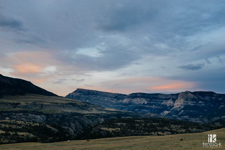 chief Joseph scenic highway in Wyoming