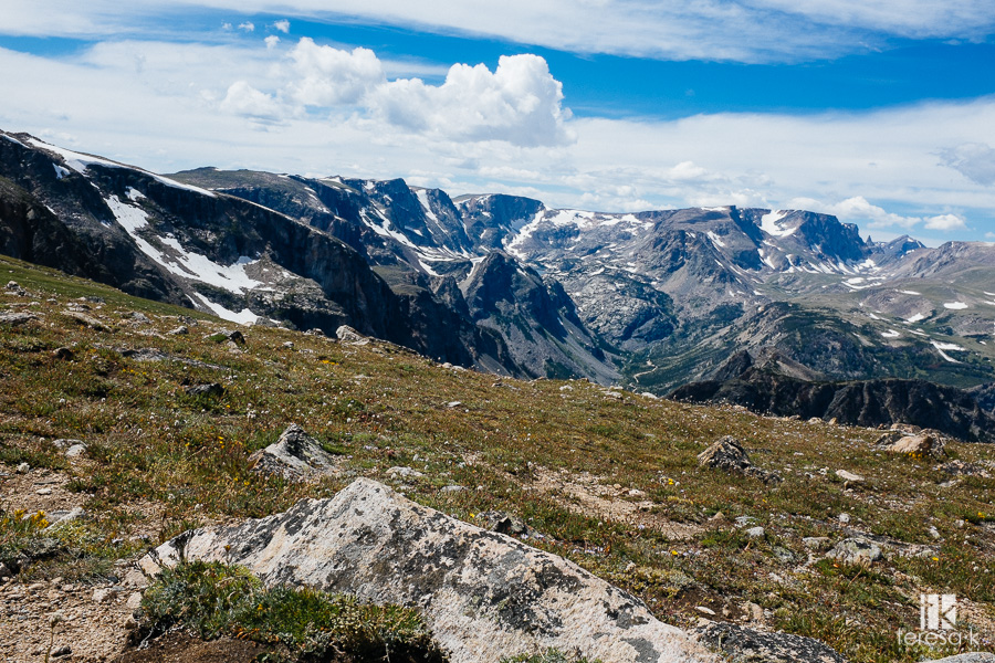 beartooth pass in Montana