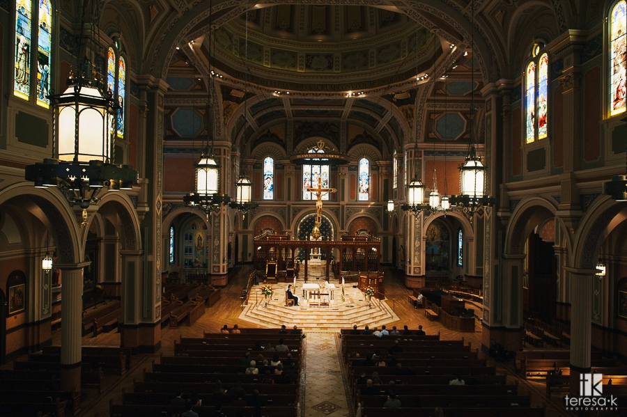 Cathedral of the Blessed Sacrament Wedding - 17