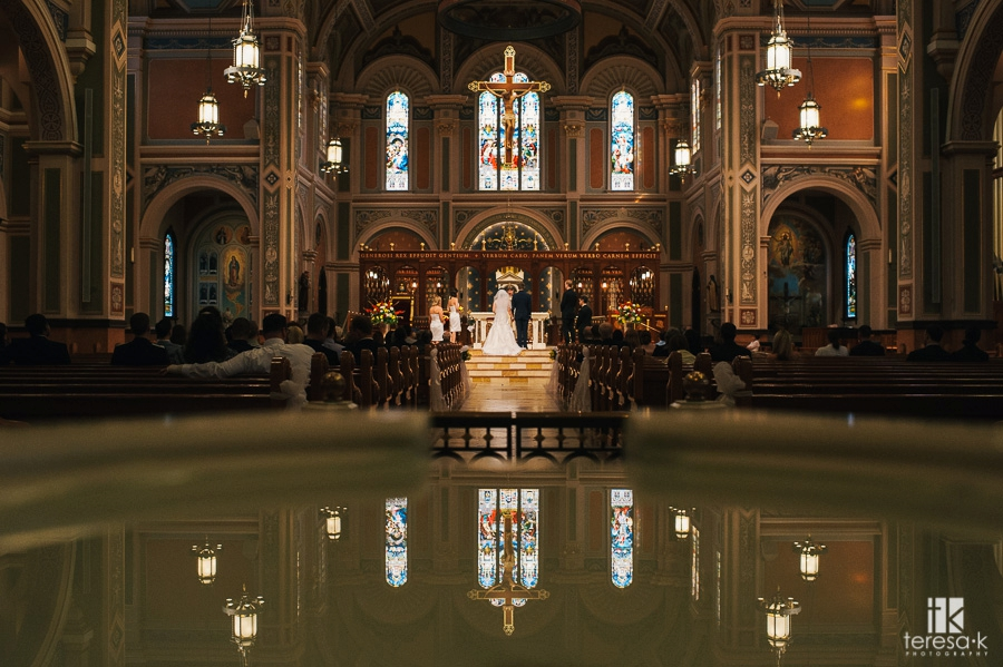 Cathedral of the Blessed Sacrament Wedding - 18