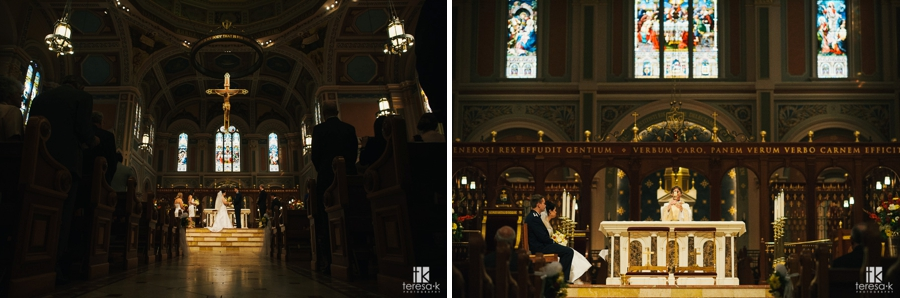 Cathedral of the Blessed Sacrament Wedding - 20