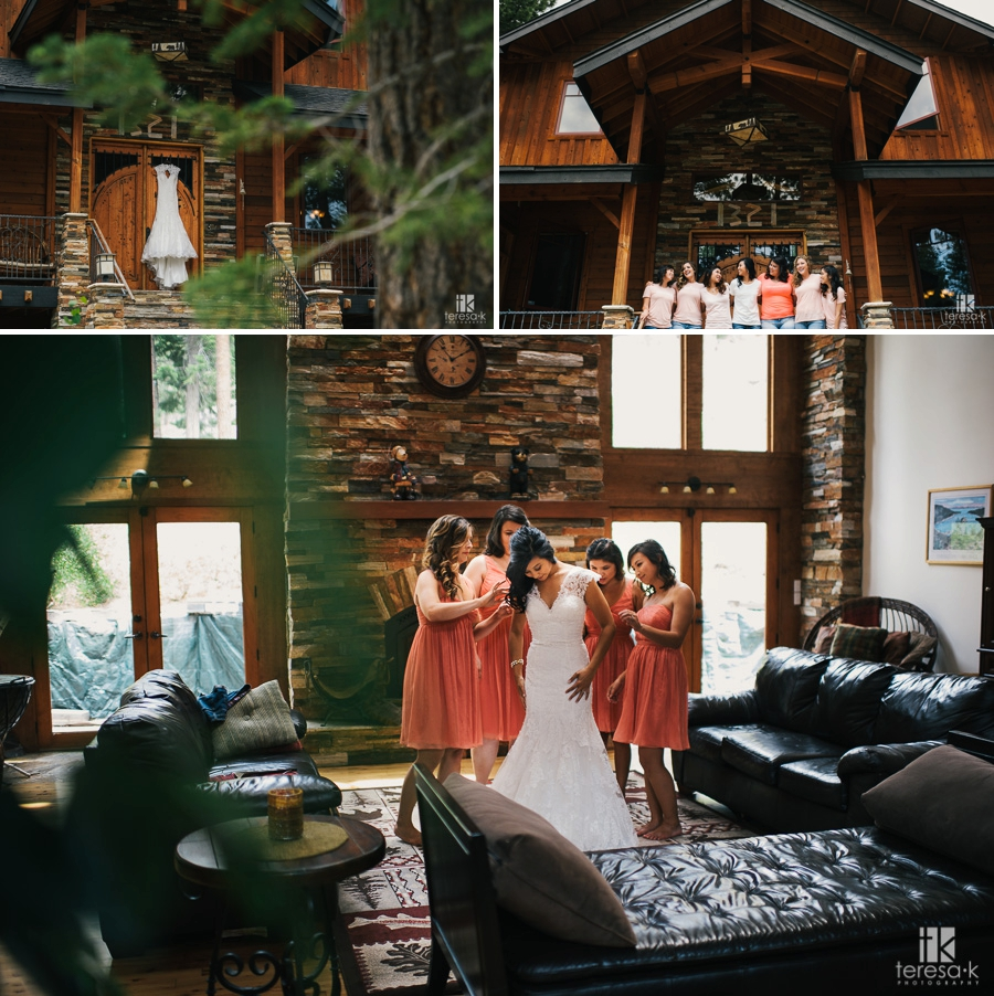 Edgewood Lake Tahoe Wedding
