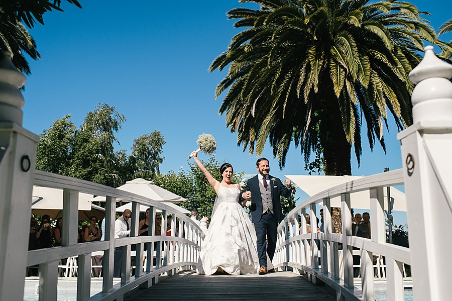 Sonoma Garden Pavilion Wedding